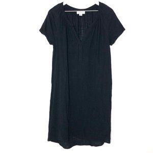 Velvet by Graham & Spencer Cotton Black Dress